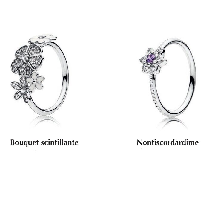 pandora anello nontiscordardime